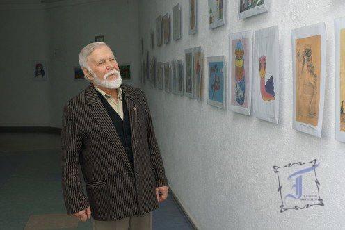 Полтавський художній музей вітає з Днем народження Євгена Васильовича Путрю!