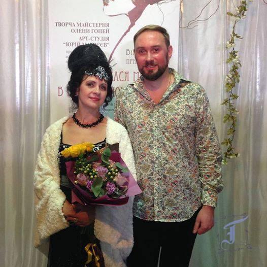 Автори колекції - дизайнери Олена Гопей та Юрій Матвєєв