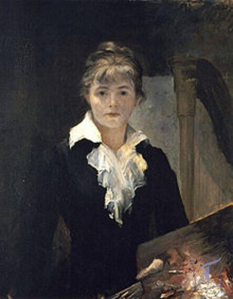 """Марія Башкірцева. """"Автопортрет"""". 1880."""