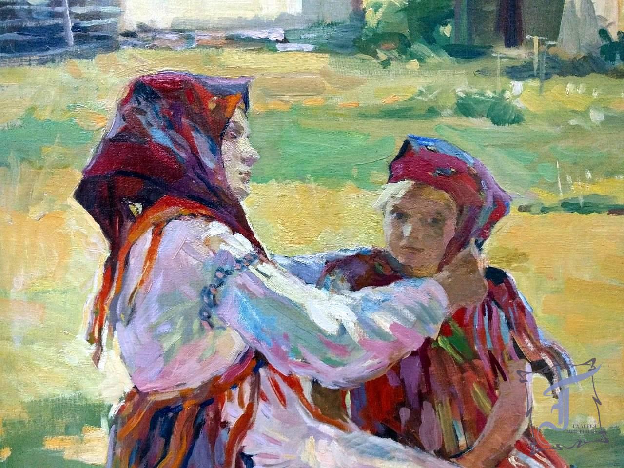 """Г. Глюк """"Свято"""" (фрагмент) (1949)"""