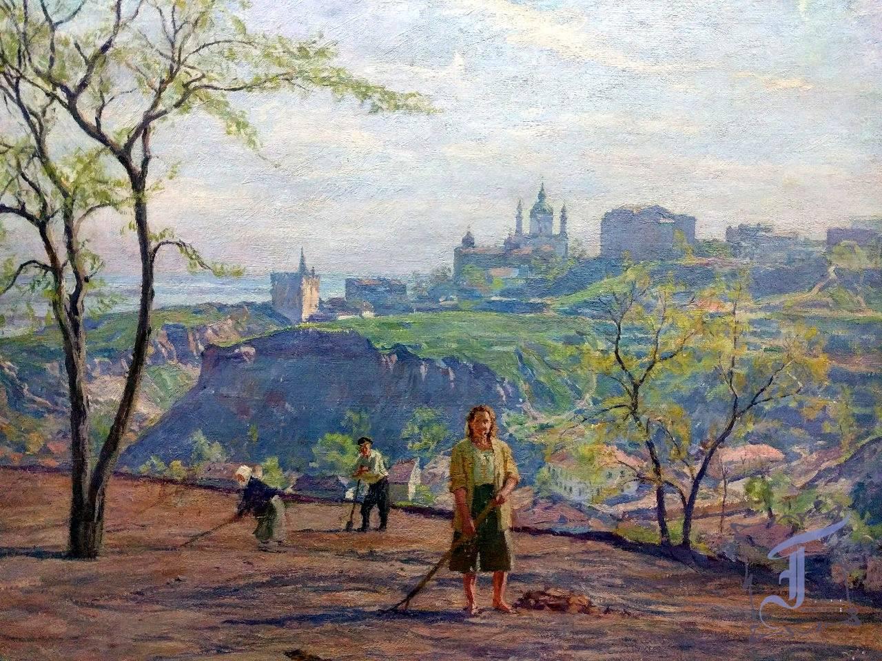 """К. Трохименко """"Весна"""" (1947)"""