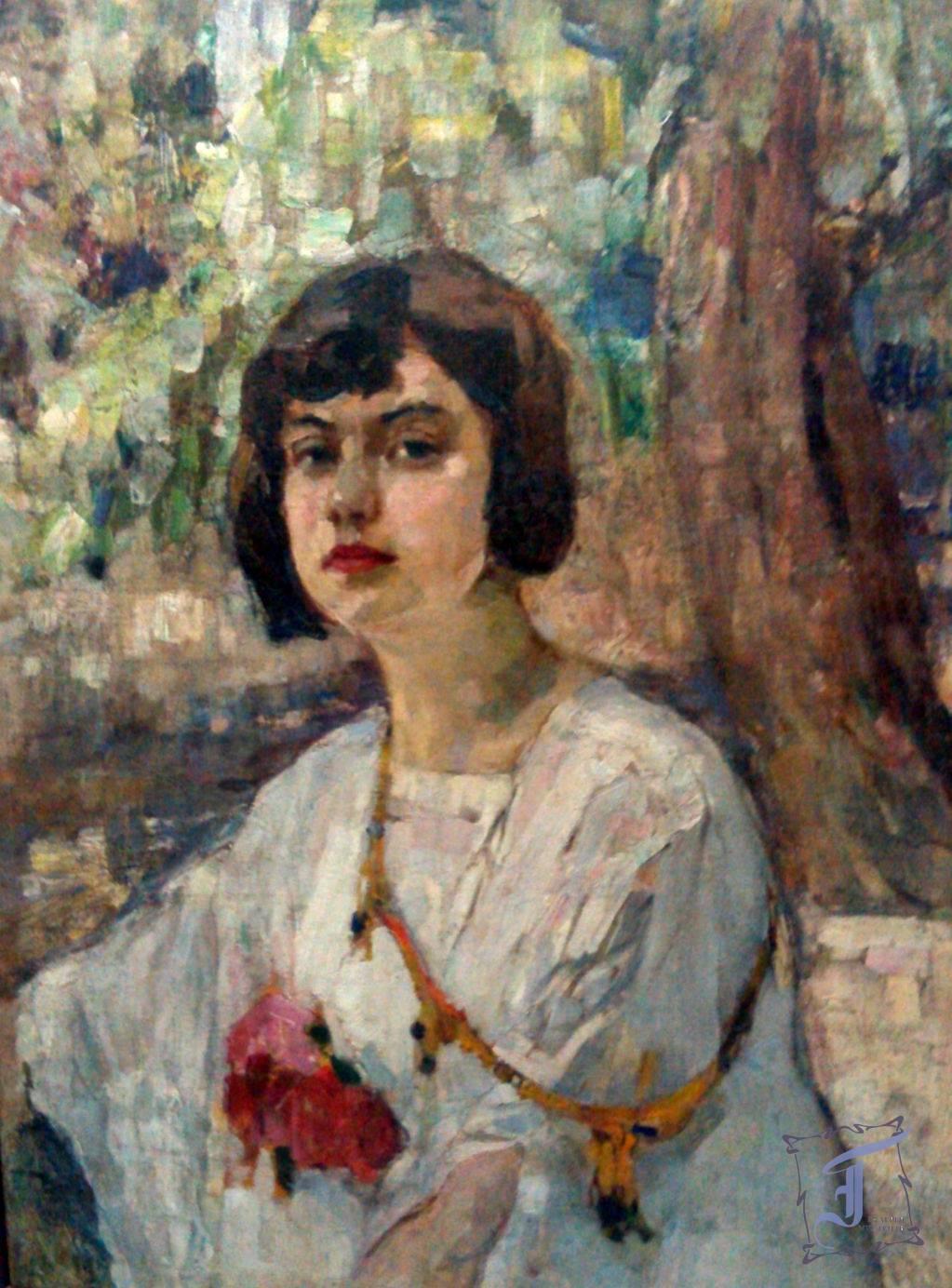 """П. Волокидін """"Портрет Анни Гулевої"""" (1927"""