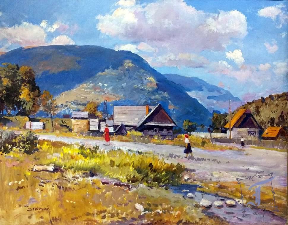 "Й. Бокшай ""Село Кваси"" (1964)"