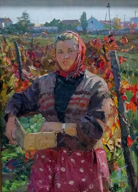 """В. Бернадський """"На винограднику"""" (1961)"""
