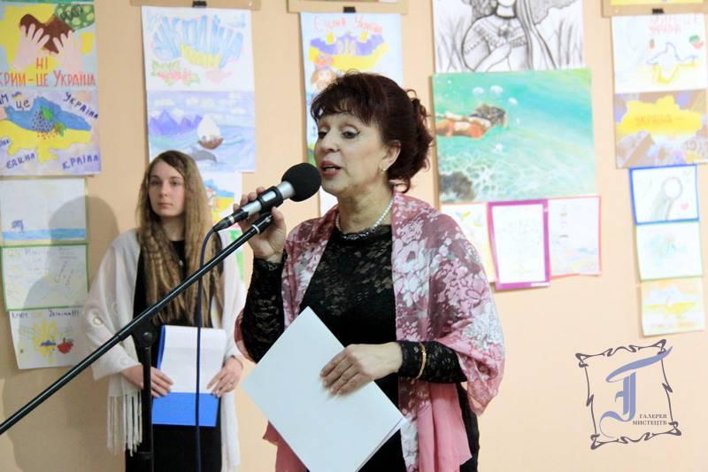Директор Міжнародної дитячої школи «Юний європеєць», депутат міської ради Майя Матвеєва