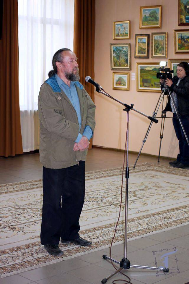 Друг Володимира Колєснікова - живописець, графік і монументаліст - Євген Курбала поділився спогадами про Людину Світу