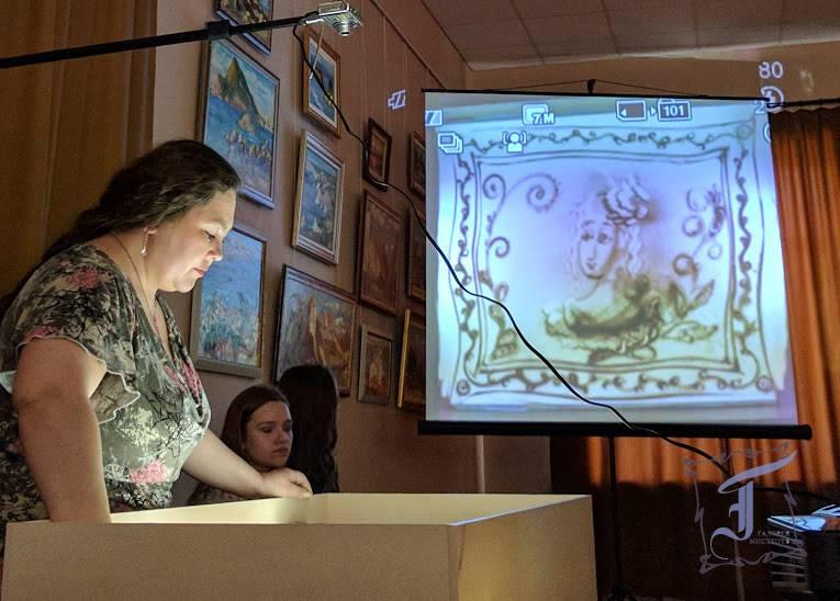 Відкриття традиційної щорічної виставки творів учнів Полтавської дитячої художньої школи