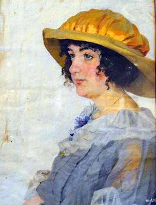 Цисс Г. І. (1869-1935). Портрет Лялі Бокій. Фото Л. Семеніхіної