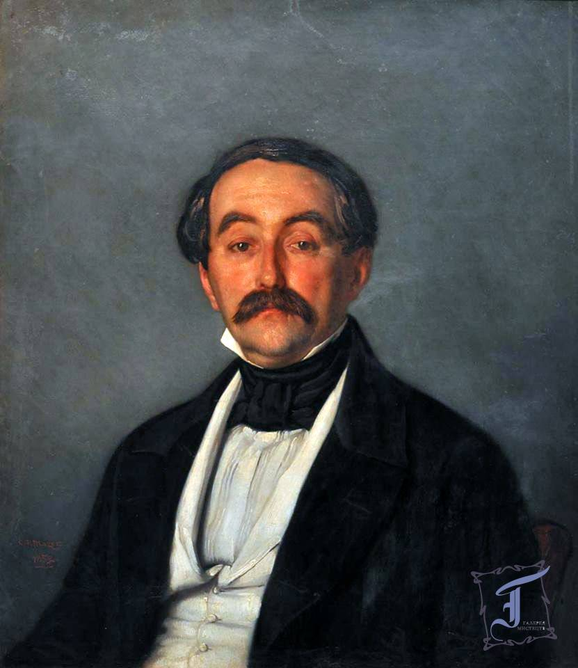 Карл Петер Мазер «Портрет Олександра Васильовича Мясново» (1852)