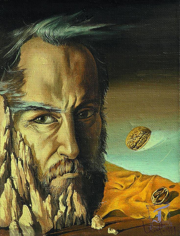 Скеля. (Автопортрет). 1994