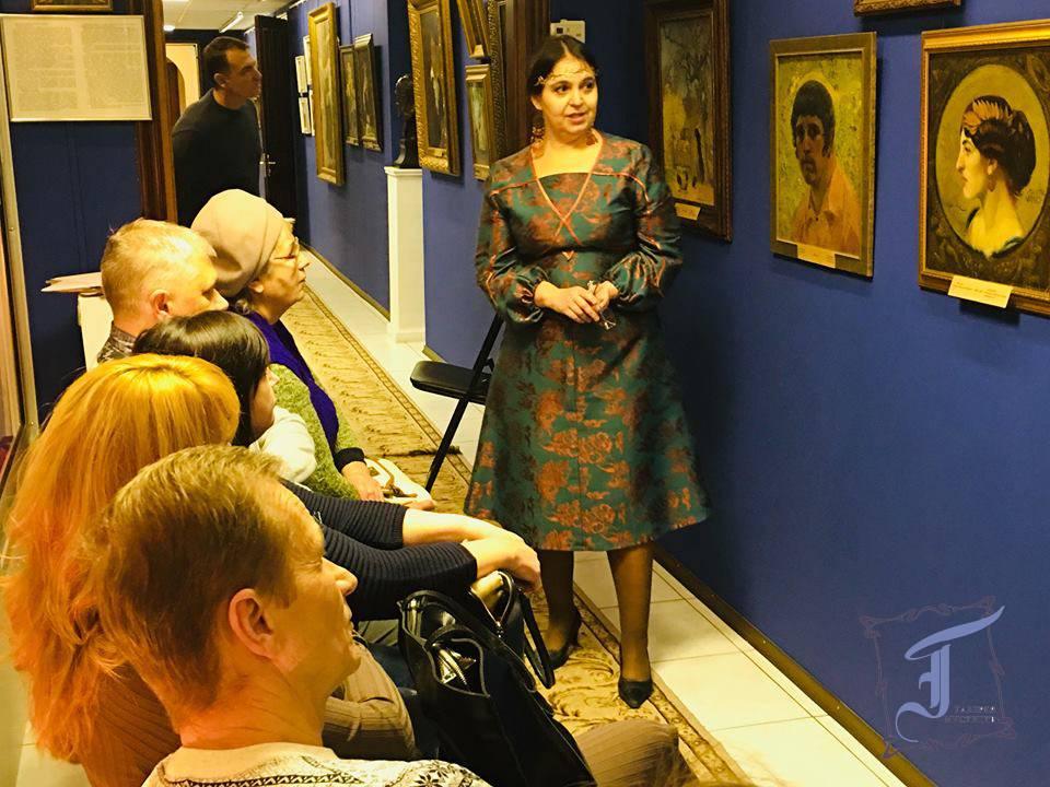 Вікторія Гуржій про долю Івана Мясоєдова та портрет Мальвіни Вернічі