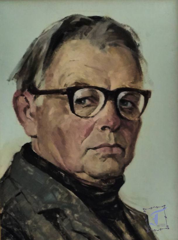 А. Сербутовський. Автопортрет. 1993