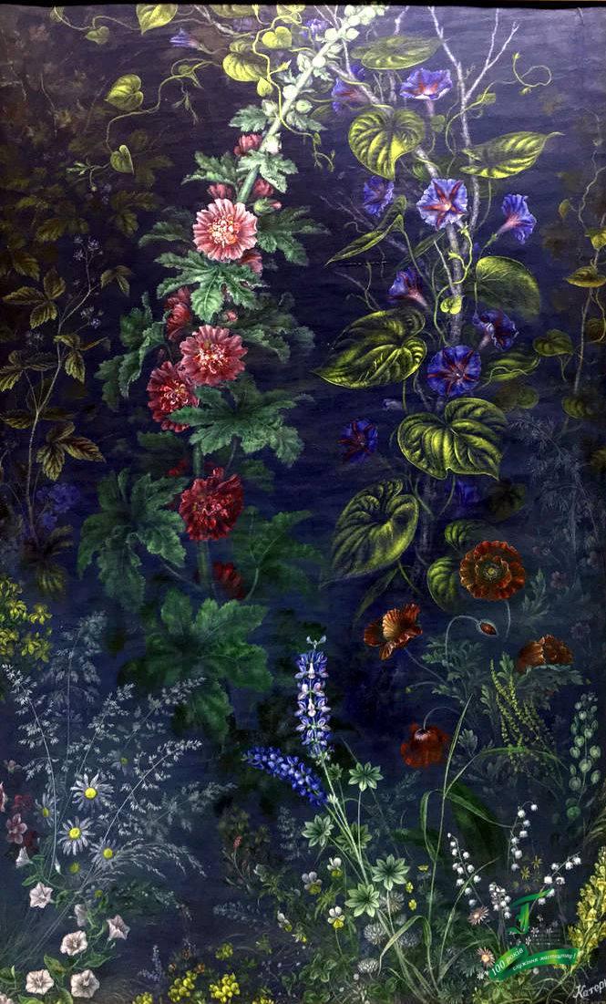 Катерина Білокур. Квіти. 1942 р.