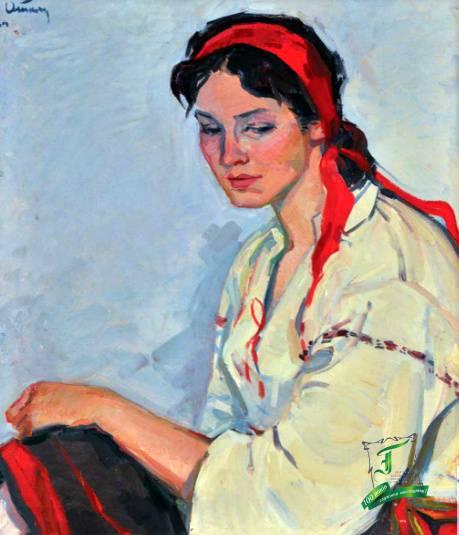 Армен Атаян Портрет молодої дівчини. 1964