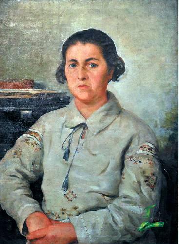 Іван Дряпаченко. Портрет Ганни Мартинівни Миргородської. 1934