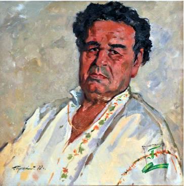 Семен Гуєцький. Композитор Платон Майборода. 1972