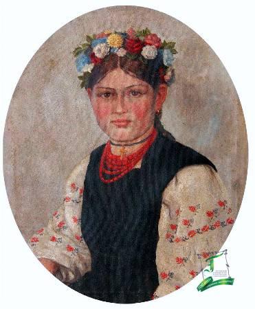 Григорій Коваленко. Портрет українки. 1909