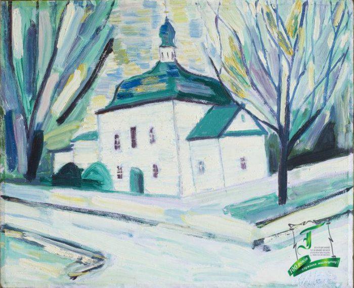 Лавренко А. І. Спаська церква. 2003. Полотно, олія. 82х99