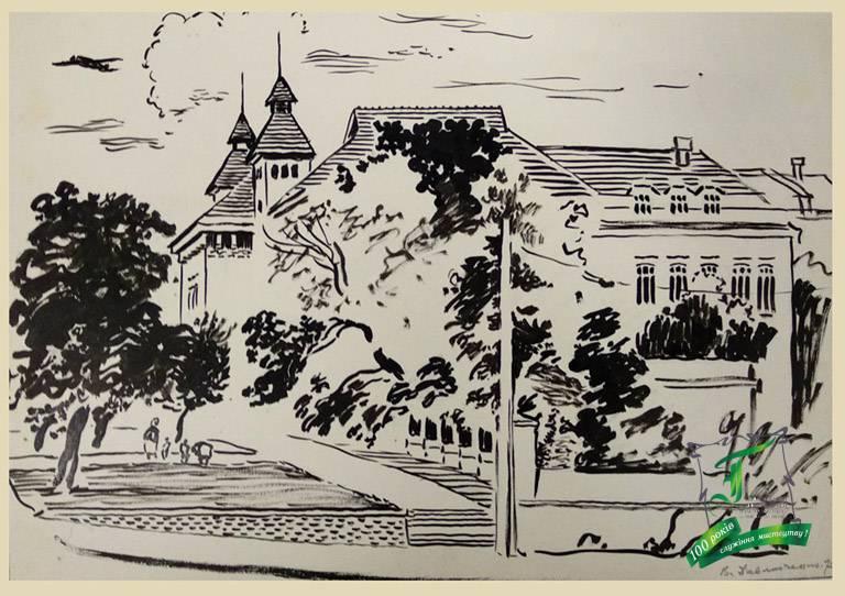 Бічний фасад краезнавчого музею