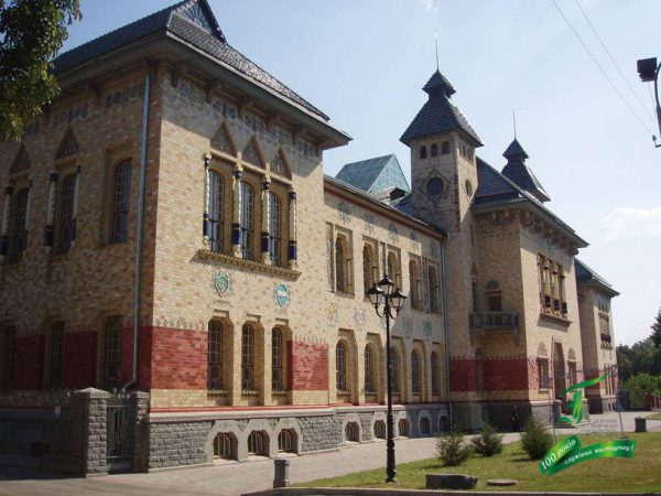 Колишній будинок Полтавського земства (зараз - Полтавський краєзнавчий музей імені Василя Кричевського)