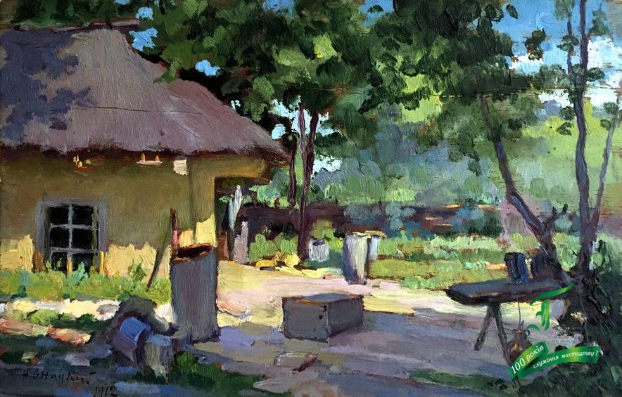Н.Х. Онацький. Пасіка. 1912 р.
