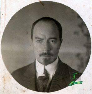 Портрет І. Орлова 1920-х років