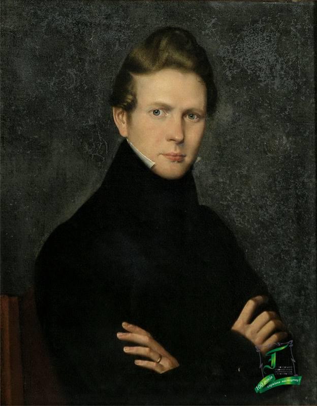 Іван Зайцев. Автопортрет. 1835