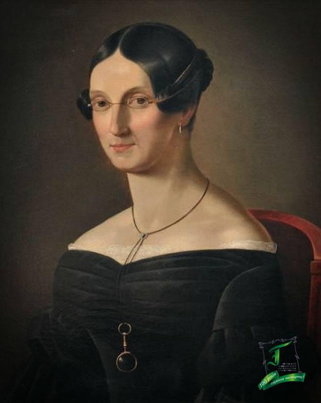 Іван Зайцев. Жіночий портрет.