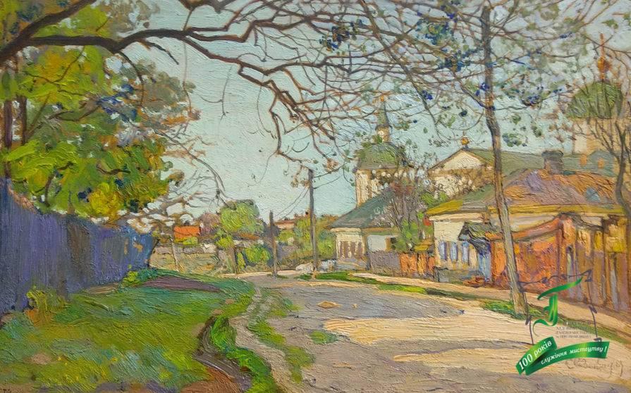 Розенбаум С. А. (1880-1941) Вулиця у Полтаві. Дикт, олія