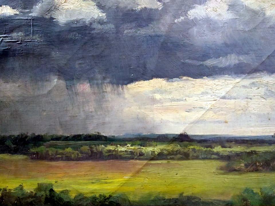Рощина О.І. Дощова хмара. 1896. Полотно, олія