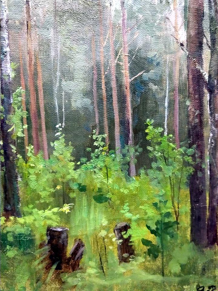 Рощина О.І. Лісова галявина. П.о.