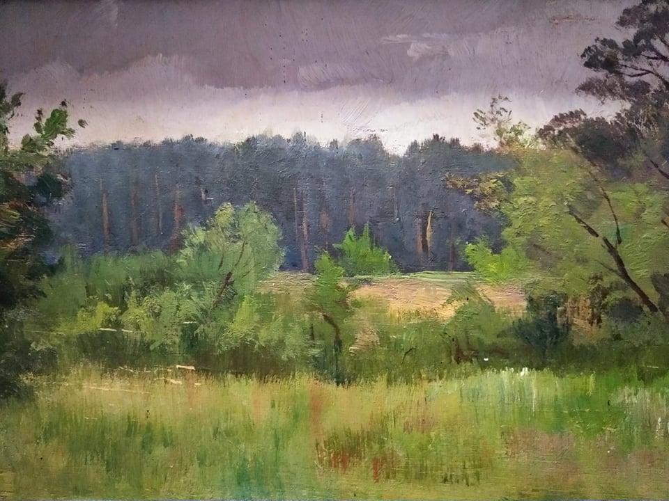 Рощина О.І. Похмурий день. 1894. Дерево, олія