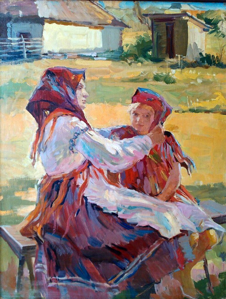 Глюк Г.М. Свято. 1949. Полотно, олія. 84,5х58,8