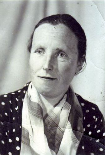 Олександра Селюченко. Фото. Початок 1970-х.