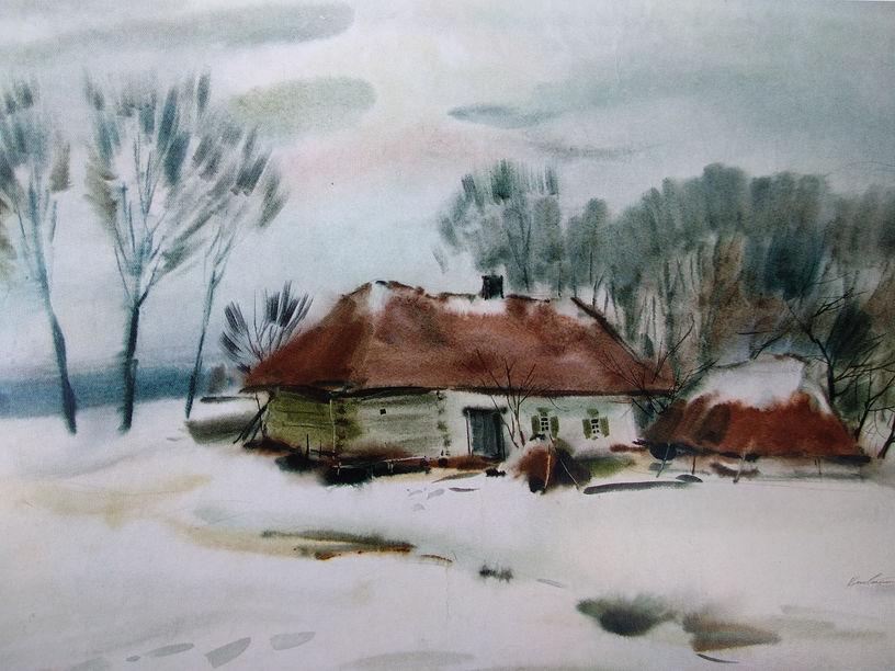 ивобоченко А.М. Село Байрак. 2008