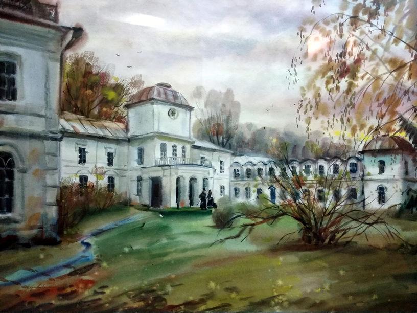 Кривобоченко А.М. Садиба Муравйових-Апостолов. 2008. ПХМГМ
