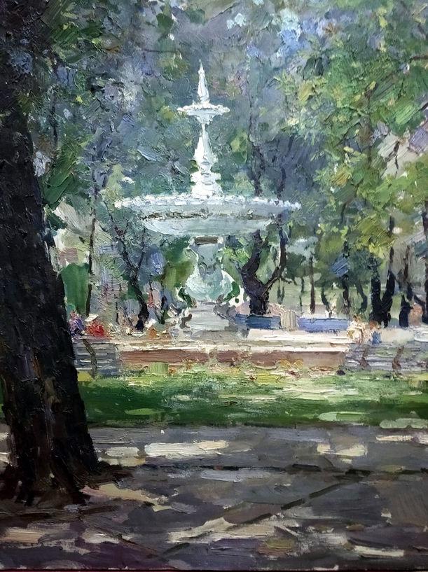 Шишко С.Ф. Біля фонтана. 1947