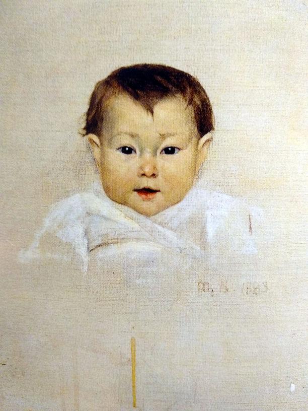 Марія Башкирцева. Дитина. Полотно, олія.  55х46. ДРМ