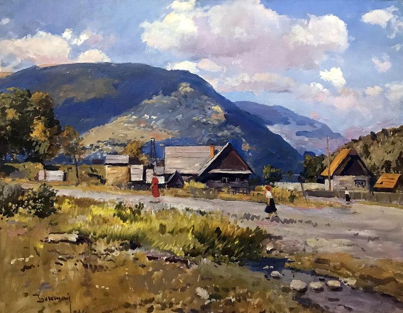 Йосип Бокшай. Село Кваси. 1964. П.,о.